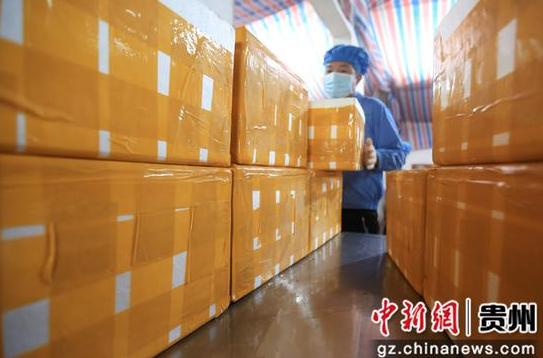 贵州大方订单豆干生产忙