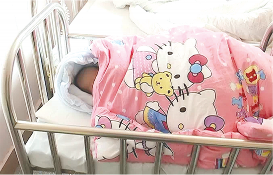 婴儿经过鉴定确系女婴。
