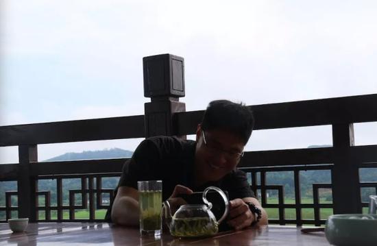 东森新闻云大陆中心记者马叔安拍摄湄潭茶