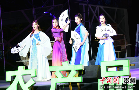 贵州黔农好物促销文艺演出活动在贵阳上演