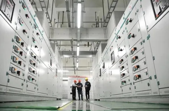 位于贵安新区的中国电信云计算中心。