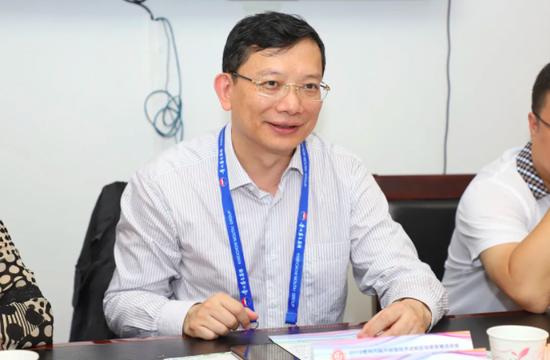 2019年9月9日 省投资促进局召开贵州生物原材料高附加值及宠物食品加工产业对接会 马雷局长在会上讲话(资料图)
