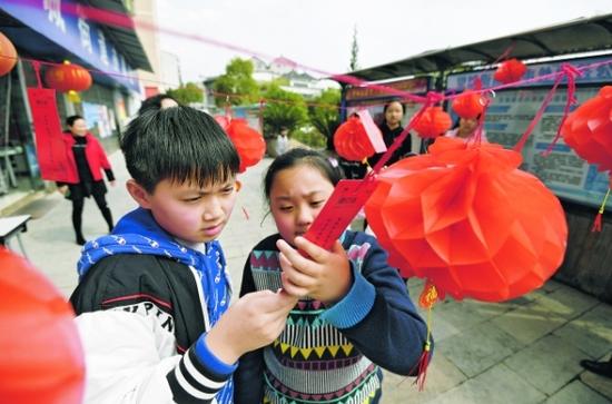 贵阳南明区:感受传统文化 喜迎元宵佳节