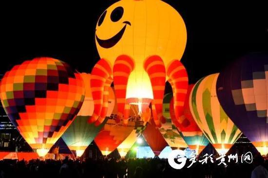 ▲万峰林热气球