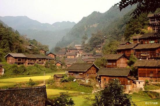 雷公山深处中国秃杉之乡格头苗寨