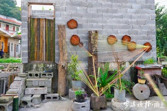 农家庭院变身艺术空间!宁波宁海巧娘助晴隆定汪村打造美丽家园