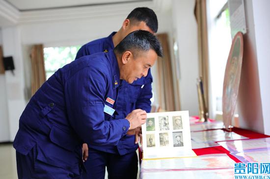 贵阳市退役军人红色文化宣讲团走进消防支队