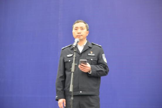 州人民政府副州长、州公安局局长李淞作工作安排