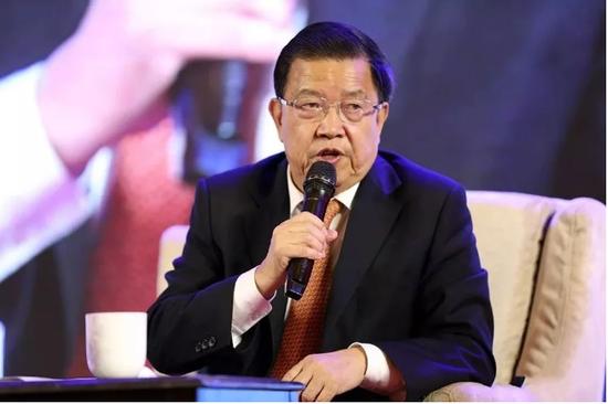 中国前外经贸部副部长、博鳌亚洲论坛原秘书长龙永图讲话