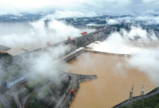 今年入汛以来最大洪水抵达三峡 流量超6万立方米/秒