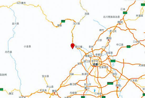 汶川余震对贵州有影响吗