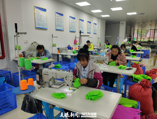 镇宁:产业发展快 群众幸福来