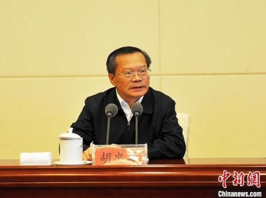 中共贵州省委常委、省委统战部部长胡忠雄出席并讲话。 张伟 摄