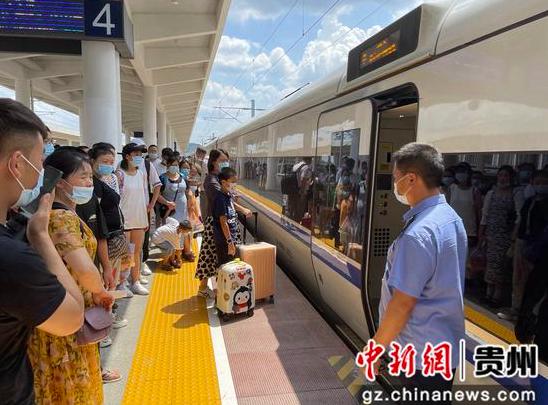 贵州遵义铁路暑运首月发送旅客84万人次