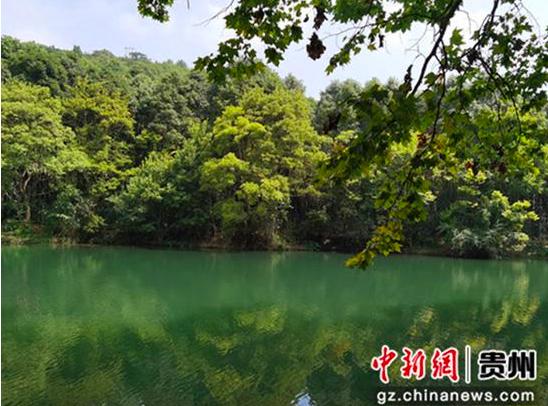 图为南明河的重要支流花溪河。 周燕玲 摄