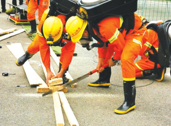 第十二届贵州省矿山救援技术竞赛