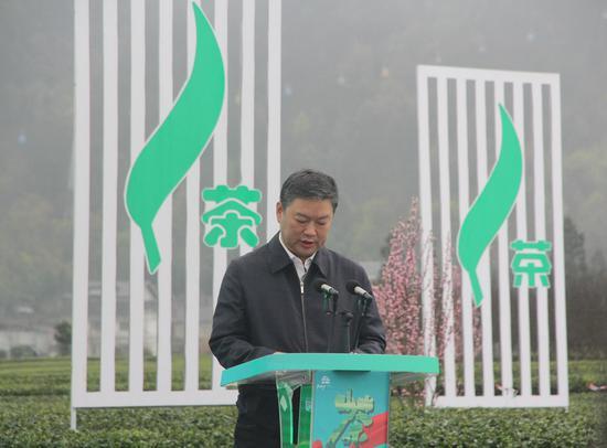 貴州省文化和旅游廳黨組副書記、副廳長許風倫致辭
