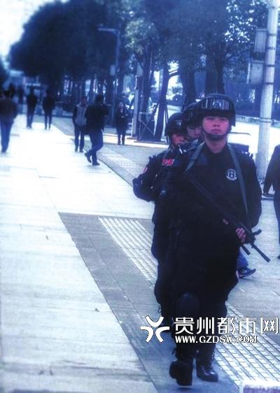 陈印在巡逻中。