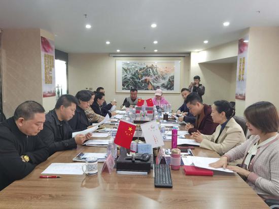 周宗琴一行调研指导贵阳市凤冈商会成立筹备工作
