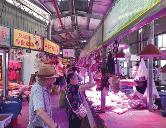 多方努力 盈佳农贸市场猪肉摊停业事件妥善解决