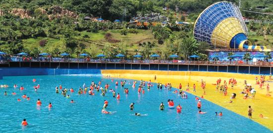 南江水上乐园。