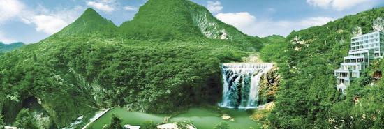 绥阳红果树景区高负氧离子将申报吉尼斯世界纪录