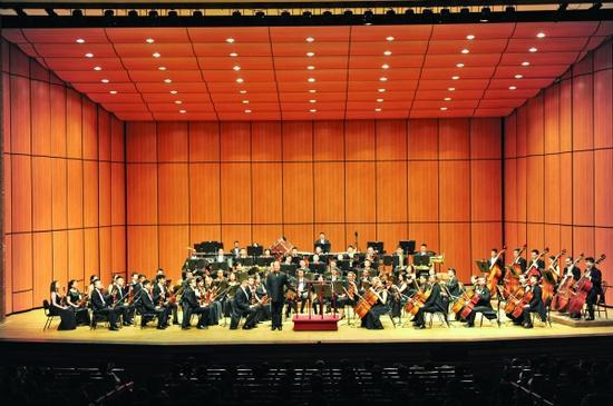 贵阳交响乐团龟尾国际音乐节表演现场