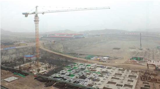 目前沪昆高速铁路贵安新区段线路已经建成