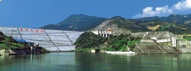 贵州北盘江董箐水电站工程。 图自中国土木工程学会官网