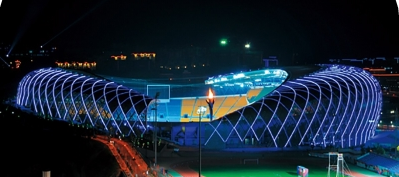 贵阳奥林匹克体育中心主体育场。 图自中国土木工程学会官网