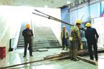 大十字地下通道5月底开通 开通后施工将同时进行