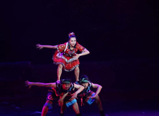 歌舞剧《秀色黔南》演绎原生态民族风情