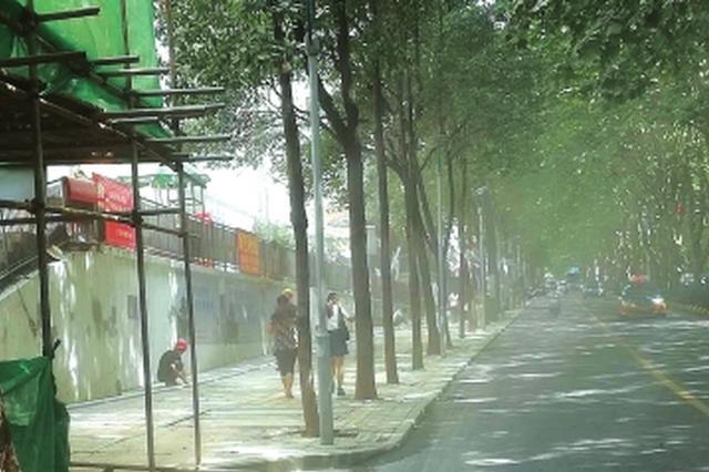 宝山北路一拆迁工地昨日灰尘漫天 数百户居民遭殃
