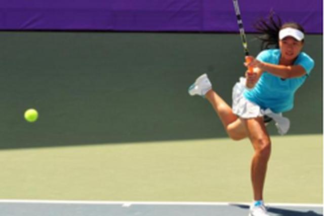 2017ITF国际女子网球巡回赛贵阳站 产生双打冠军