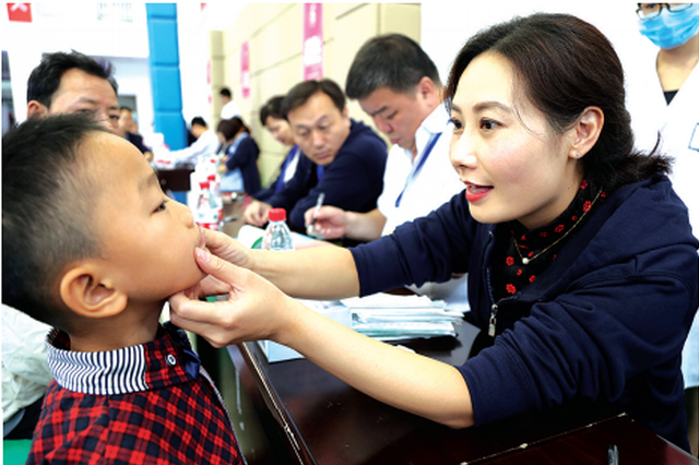 遵义:微笑公益行动启动 230名唇腭裂患儿免费手术