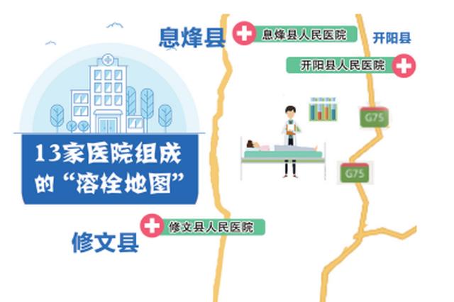 贵阳13家医院对脑卒中患者建立绿色通道 请存好地图
