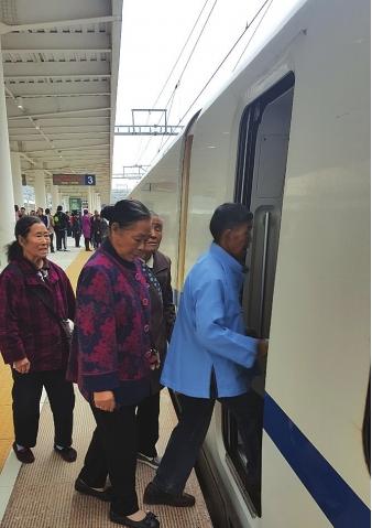 贵州第三大高铁站贵阳东站正式迎