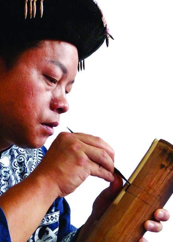 吹管乐器大筒箫传承人陶春学:苗岭山寨的一枝独秀