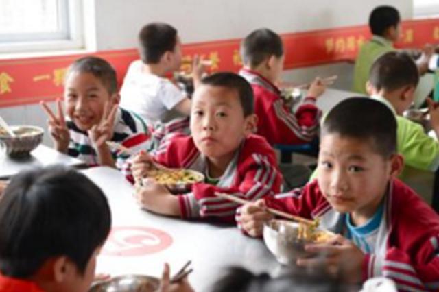 黔东南:实施营养计划 中小学生长高了