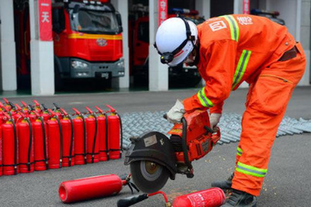 金沙多部门联动 专项整治消防产品