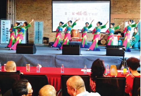 毕节戏剧形体舞《琵琶语》展演。