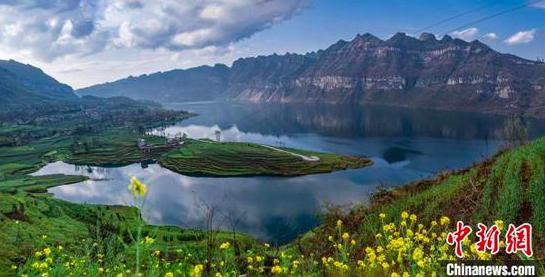 图为贵州黔中水库。 杨良强 摄