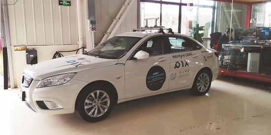 PIX公司的无人驾驶车辆