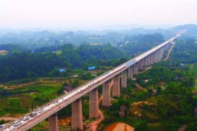 """成贵高铁:全线新建大桥""""简支箱梁""""全部架设完成"""