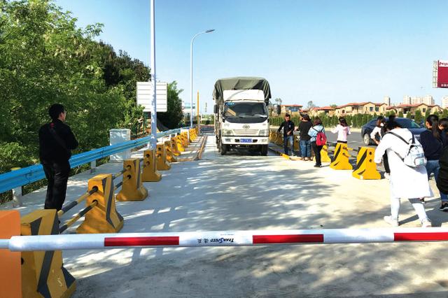 高速治超从入口把关 首批货车检测站16日起正式启用