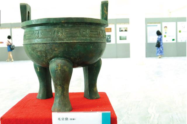中国文字博物馆提供展品 《汉字》巡展走进遵义校园