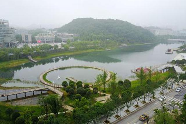 """贵阳""""千园""""建设有序推进 新建公园今年已开工73%"""