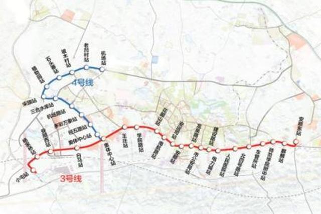 安顺将建6条轨道交通线路 包括2条轻轨、4条有轨电车