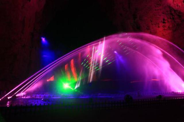 3D表演、激光秀、光束灯表演亮相观山湖公园及会展城
