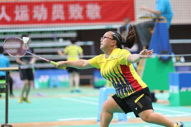 2018年全国残疾人羽毛球锦标赛 贵阳展风采